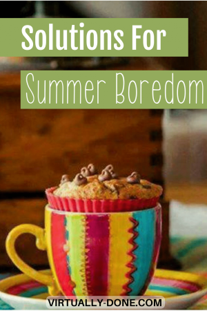 summer boredom, boredom busters, work life balance, work at home mothers, summer schedules