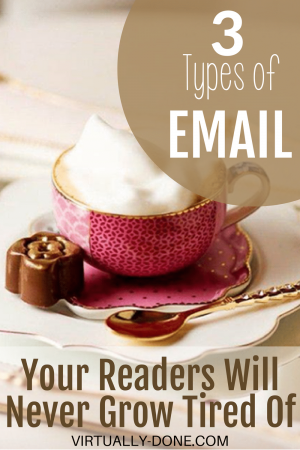 types of email, email topic ideas, kinds of email content, brainstorming, internet marketing