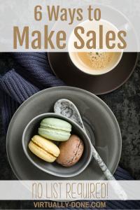 make sales
