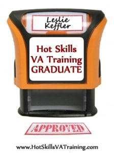 Hot Skills VA Training