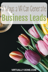 5 Ways a Virtual Assistant Can Generate Business Leads